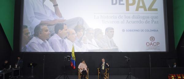 Documental 'Rostros de Paz', que contó con el apoyo de la Oficina del Alto Comisionado para la Paz, narra los hechos del Proceso de Paz